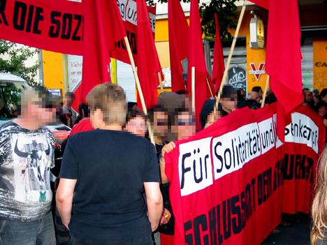 Klassenkämpferischer Block auf der Revolutionären 1.-Mai-Demo