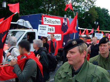 """""""Politischen Streik erkämpfen"""