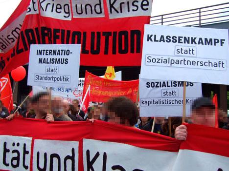 Internationalismus, Klassenkampf, Sozialismus