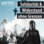 Klassenkämpferischer Block in Berlin